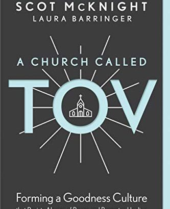 Book Review:  A Church called Tov